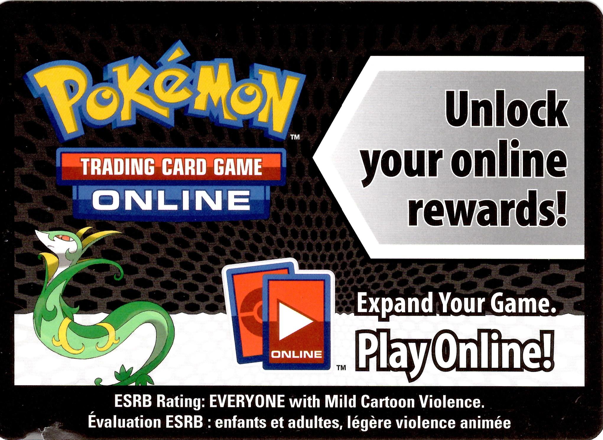 Pokemon Black White Card Game Fall 2011 Evolved Battle Action Tin Serperior Online Code