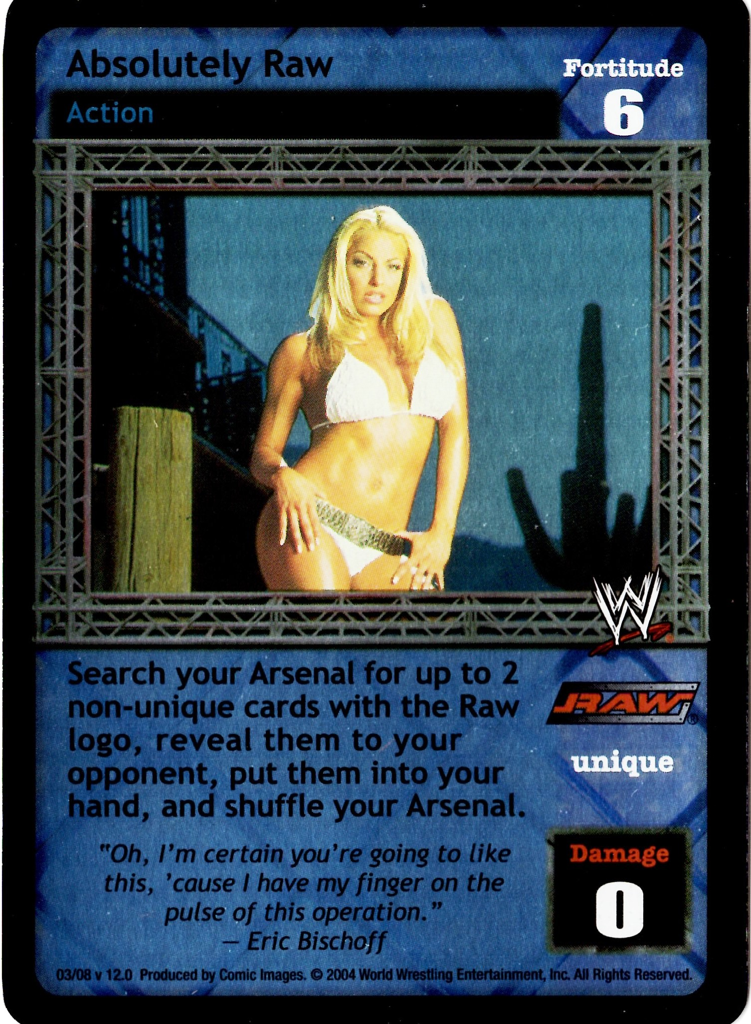 WWE RAW DEAL Absolutely Raw - 03/08 - Foil