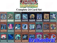 YuGiOh 2013 Zexal Collection Complete 24 Card Set ZTIN