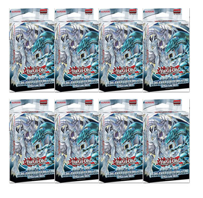 Saga of the Blue Eyes White Dragon Deck Box Unlimited Edition (8 COUNT)