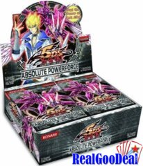 YuGiOh Absolute Powerforce Booster 12 Box Case