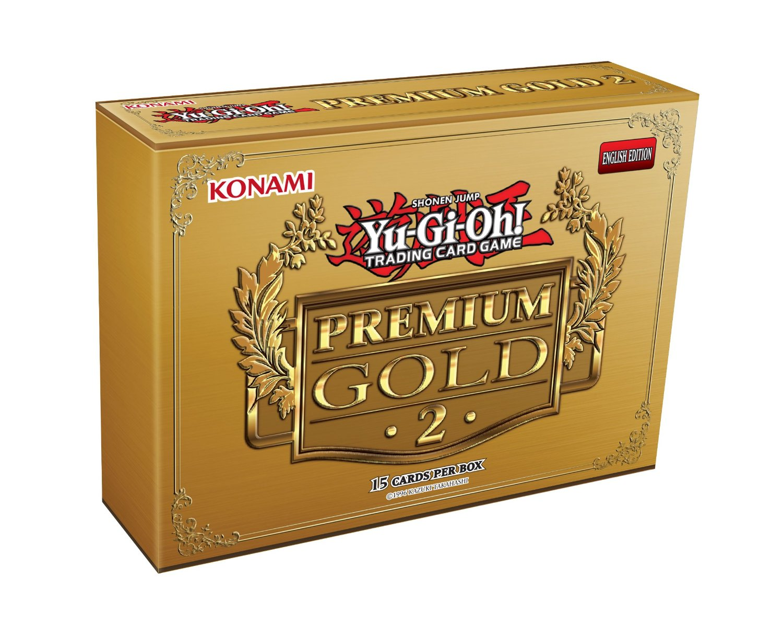 Yu-Gi-Oh Premium Gold Return of The Bling Card Game Mini Box (Pack of 15)
