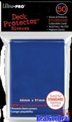Ultra Pro 60ct Yugioh Sized Sleeves Case - Blue  (100 Packs)