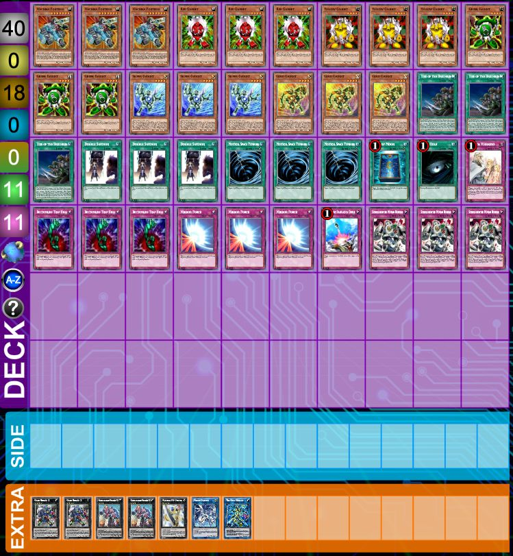 YuGiOh Gadget Deck + Exclusive  Sleeves (Include Warning , Double Summon )