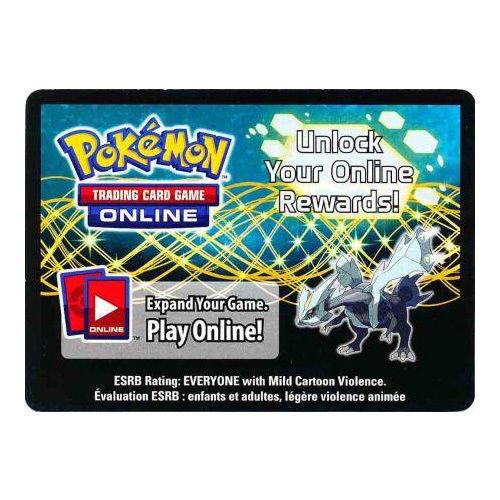 Pokemon TCG Kyurem Online Promo Code Card