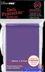 Ultra Pro Standard Sleeves Case - Purple (50 ct.) (120 Packs)