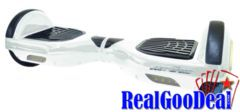Hands Free Self Balancing Electric Mini Hoverboard 2 Wheels Scooter white