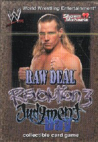 WE Raw Deal: Revolution 3 Judgment Day - Shawn Michaels Starter Deck