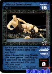 WWE RAW DEAL Ultimate Smackdown! - 04/08 - Foil