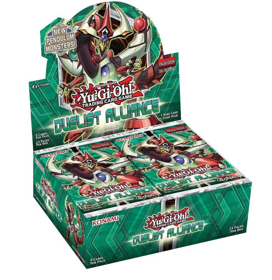 YuGiOh Duelist Alliance Booster 12 Box Case