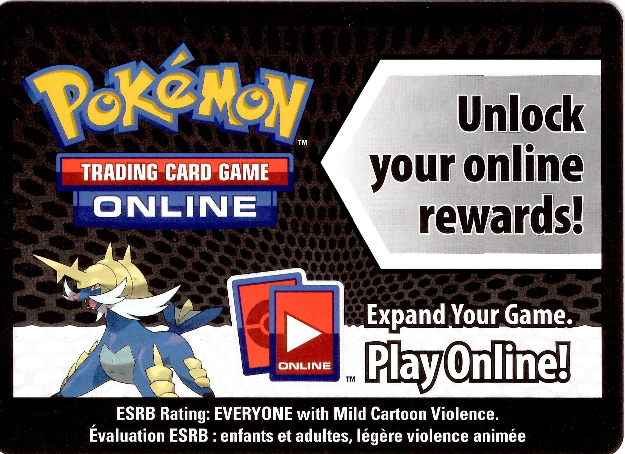 Pokemon Black White Card Game Fall 2011 Evolved Battle Action Tin Samurott Online Code