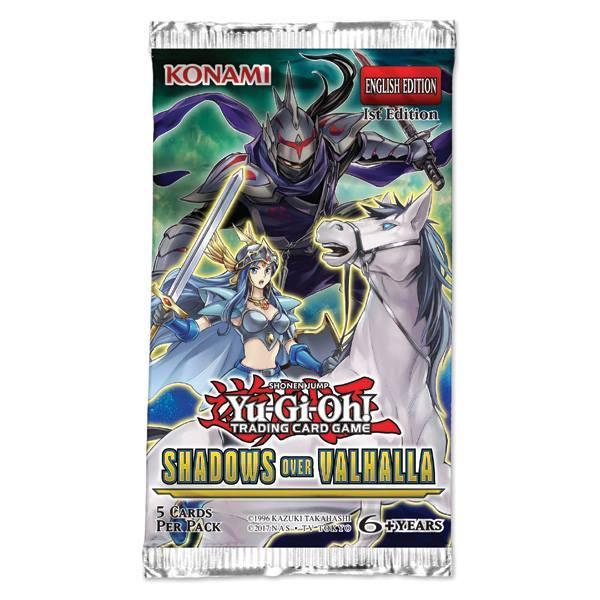 YuGiOh Shadows In Valhalla Booster Pack