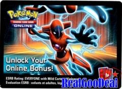 Pokemon Black & White - Fall 2013 Legendary Tin Deoxys-EX Online Code