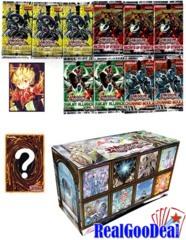 YuGiOh Burning Abyss Monster Box 10 Packs + Sleeves + Payper Playmat + 5 Foils