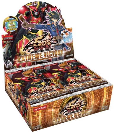 YuGiOh Extreme Victory Booster 12 Box Case