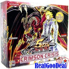 Crimson Crisis Unlimited Booster Box