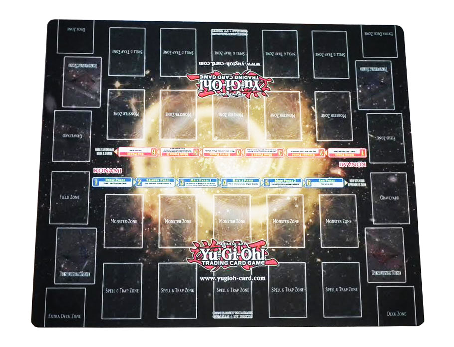 YuGiOh Breakers Of Shadow Double Player Playmat