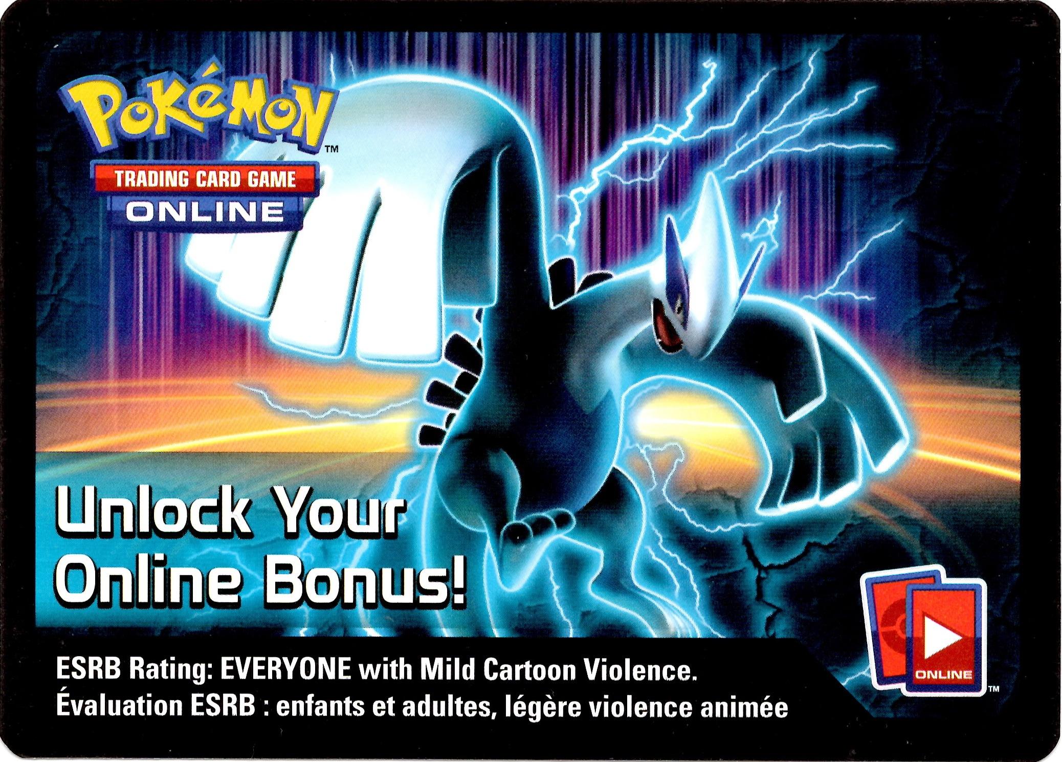 Pokemon TCG Lugia Team Plasma Tin Online Code