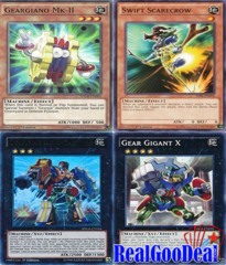 YuGiOh Geargia Budget Deck Tournament Ready + Sleeves