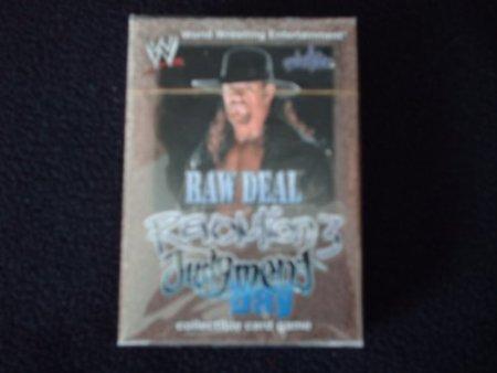 RAW DEAL Revolution 3 Judgment Day Undertaker Starter Deck