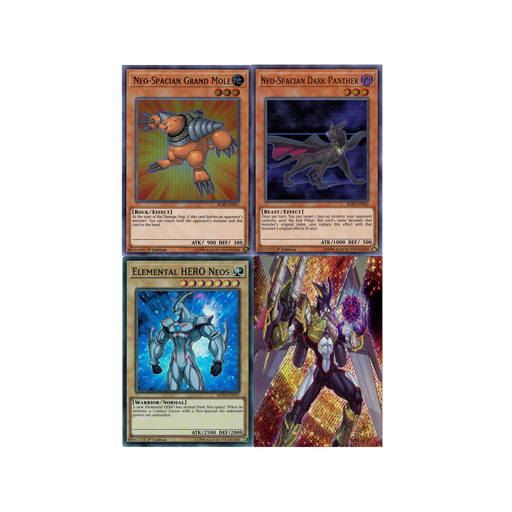YuGiOh Elemental Hero Nebula card Set ALL FOILS!!!