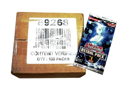 YuGiOh Astral Pack #1 Box Case (100 PACKS)