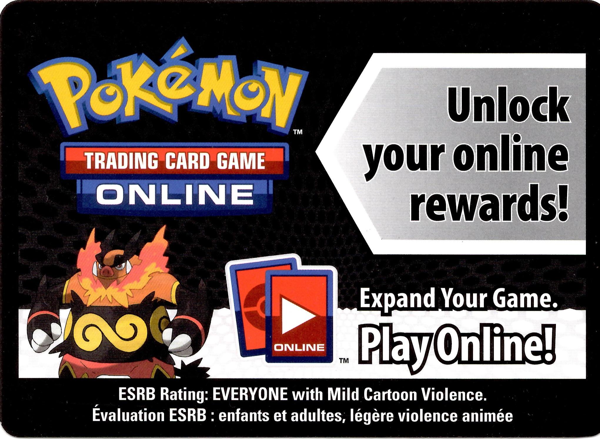 Pokemon Black White Card Game Fall 2011 Evolved Battle Action Tin Emboar Online Code