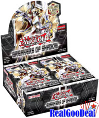 YuGiOh Breakers of Shadow Booster Box Case