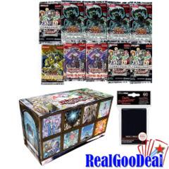 YuGiOh Blackwing Value Bundle 10 Packs+ Sleeves + Storage Box + Paper Playmat + 5 Foils