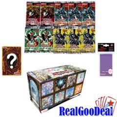 YuGiOh Shaddoll Value Box 10 Packs + 5 Foils + Sleeves + Paper Playmat
