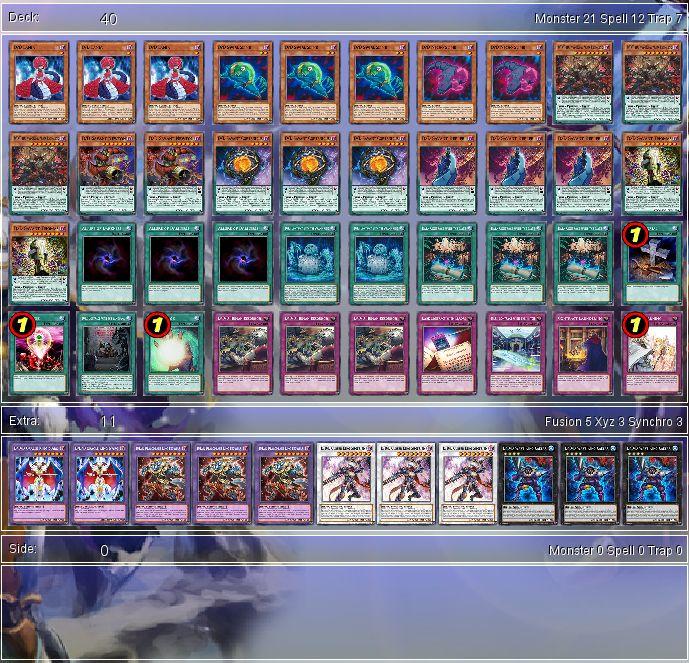 YuGiOh D/D/D Budget Deck Tournament Ready + Sleeves