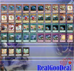 YuGiOh Dinosaur Budget Deck + Sleeves Tournament Ready
