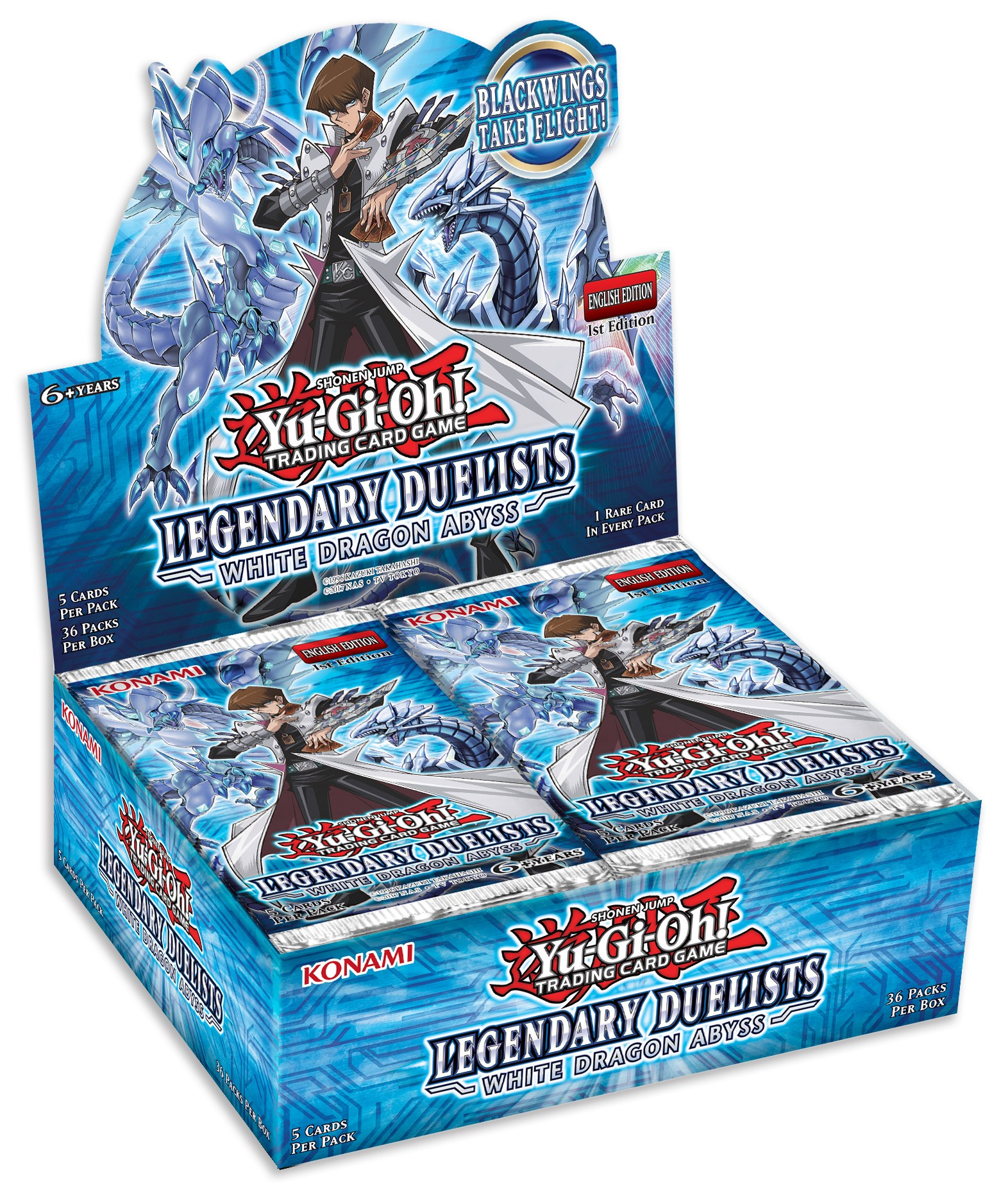 YuGiOh Legendary Duelist White Dragon Abyss Booster Box