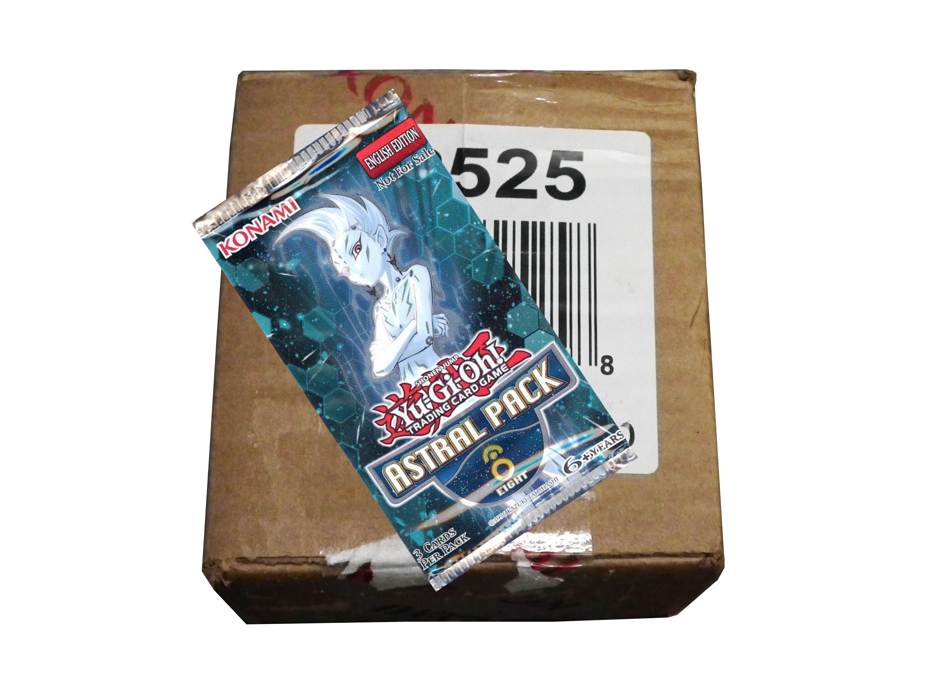 YuGiOh Astral Pack #8 Box Case (100 PACKS)