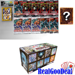 YuGiOh Nekroz Bundle 10 Packs + Sleeves + 5 Foils