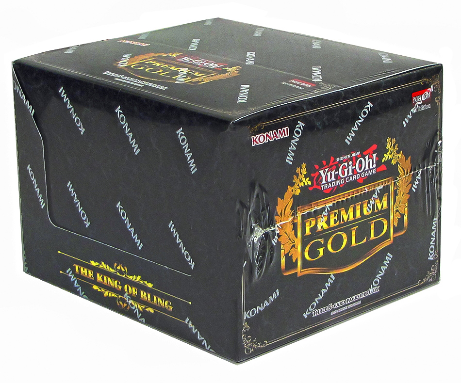 YuGiOh  Premium Gold Box Case