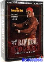 WWE Raw Deal Unforgiven Starter Deck The Immortal One