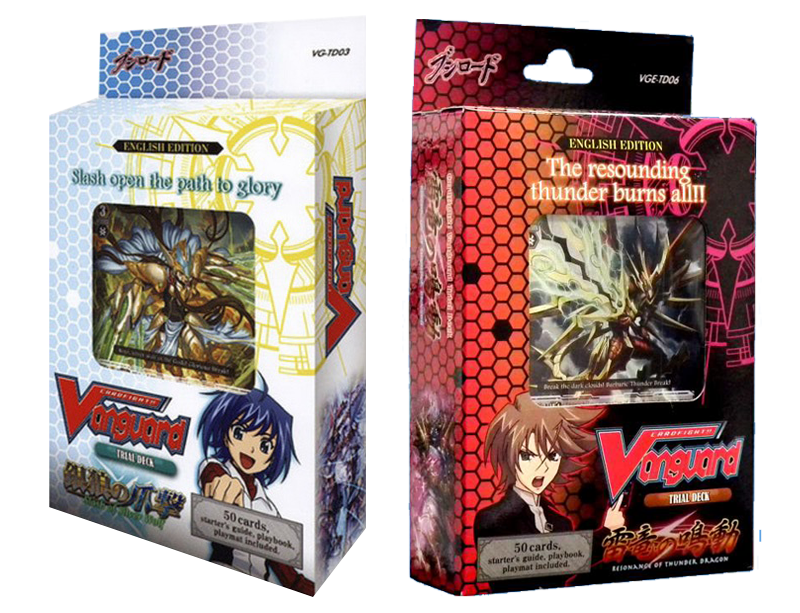 Cardfight!! Vanguard Resonance of Thunder Dragon / Slash of Silver Wolf - Combo