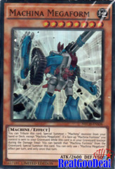 Machina Megaform - NECH-ENS06 - Super Rare - Limited Edition
