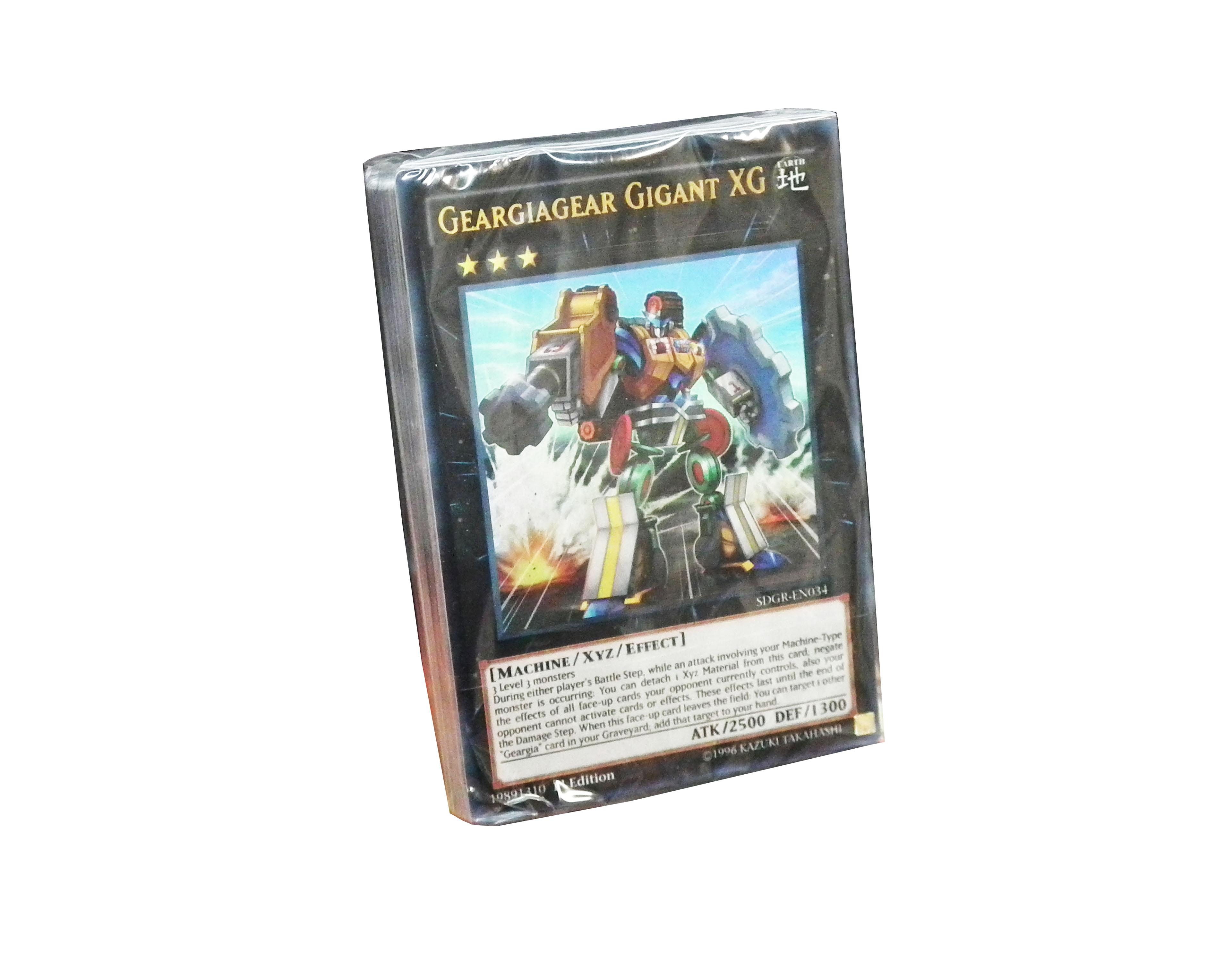 YuGiOh Geargia Rampage Loose Deck [NO BOX]