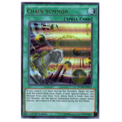 Chain Summon - DUSA-EN011 - Ultra Rare - 1st Edition