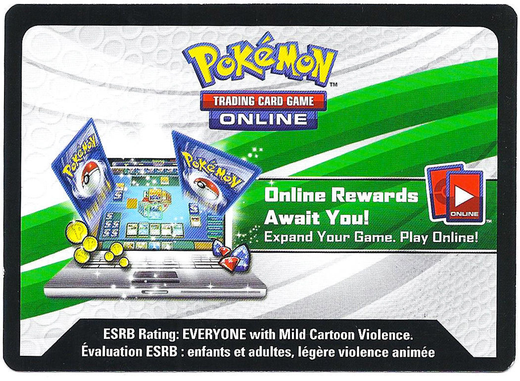 Pokemon TCG Power Trio Charizard Online Promo Code Card From 2014 Fall Tin