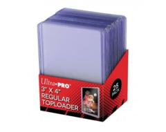 3 X 4 Clear Regular Toploader 25ct