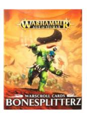 Warscroll Cards Bonesplitterz