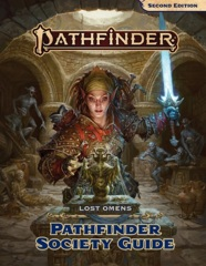 PATHFINDER 2E LOST OMENS SOCIETY GUIDE