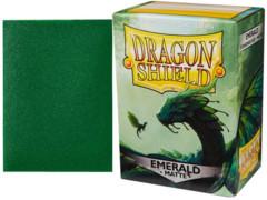 Dragon Shield Box of 100 Matte Emerald
