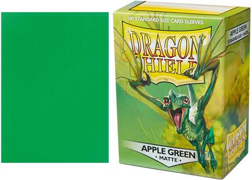 Dragon Shield Box of 100 Matte Apple Green