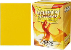 Dragon Shield Box of 100 Matte Yellow