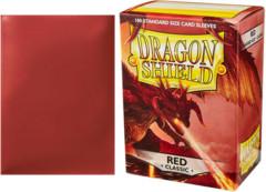 Dragon Shield Box of 100 Red