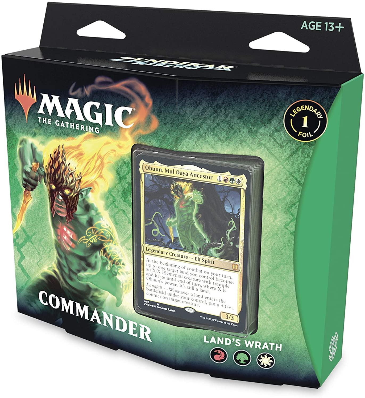Zendikar Rising - Commander Deck Lands Wrath